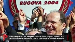 LAJM TRONDITES: LDK u regjistrua në Beograd. Rugova u takua me Millutinoviq gjatë sulmeve dhe arriti marrëveshje /VIDEO