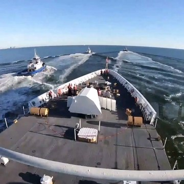 U.S. Coast Guard • USCGC Stone (WMSL 758) • First Patrol • Florida