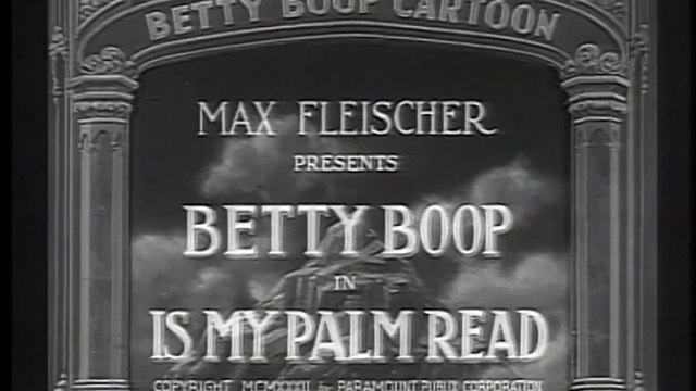 Betty Boop - Is My Palm Read - 1933