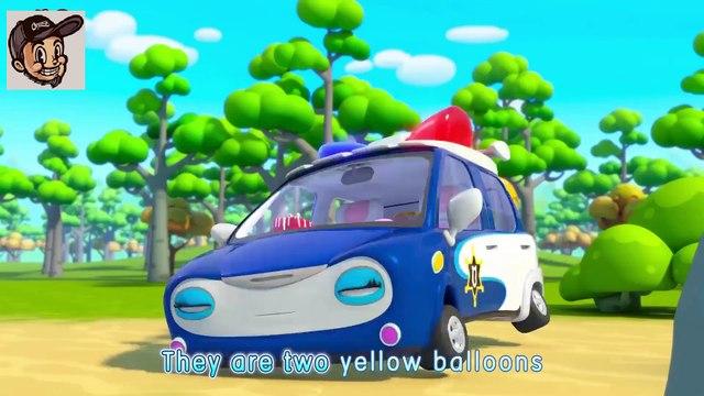 Fire Truck, Police Car, Ambulance In Surprise Eggs  Nursery Rhymes  Kids Cartoon  BabyBus(1)