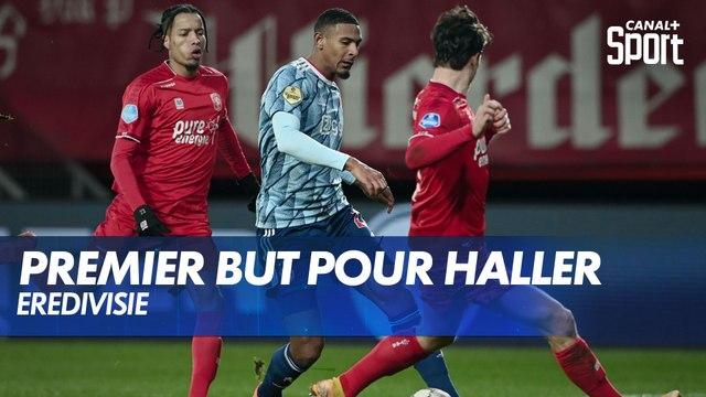 Premier but pour Haller avec l'Ajax !