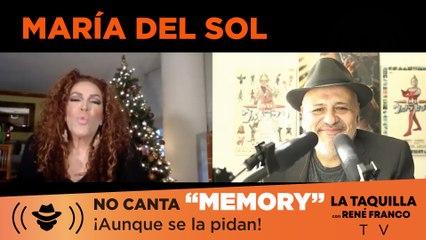 """¡Ni aunque se la pidan! María Del Sol no canta """"Memory""""."""