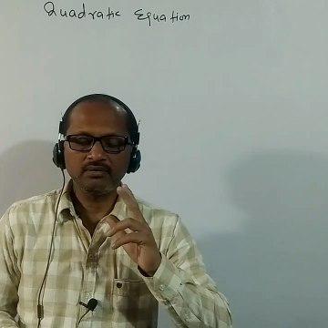 CLASS X- (9), NTSE , Maths, Solution of quadratic equations :By- A. Prakash.