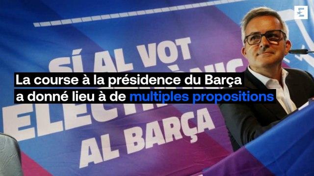 Mbappé + Haaland, tatouage gratuit... Les propositions folles des candidats à la présidence du Barça