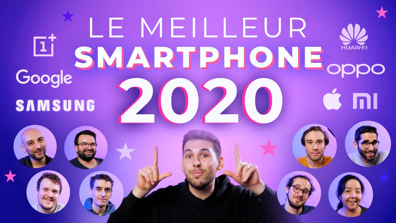 TOP 10 des MEILLEURS SMARTPHONES de 2020 (Photo, Design, Compact, Rapport Qualité-Prix, Pas cher,..)