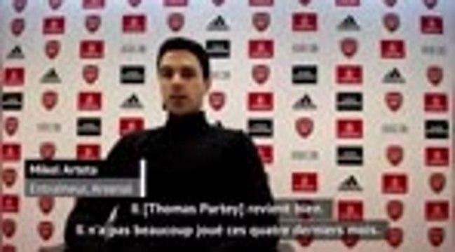 """Arsenal - Arteta : """"Partey revient bien"""""""