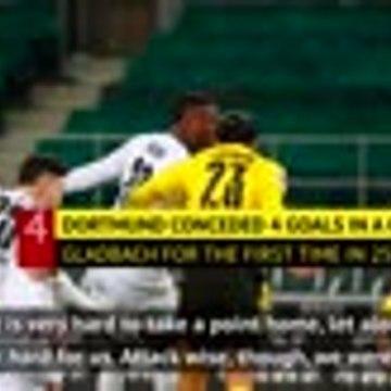 Dortmund conceded 'stupid goals' in Gladbach defeat - Terzic