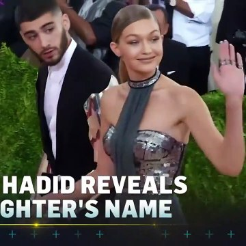 Gigi Hadid Reveals Name of Her & Zayn Malik's Baby Girl