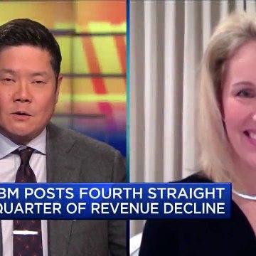 IBM posts fourth consecutive quarter of revenue declines