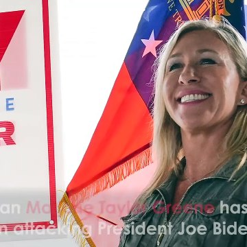 QAnon Congresswoman Marjorie Taylor Greene Files Impeachment Articles AGAINST President Joe Biden