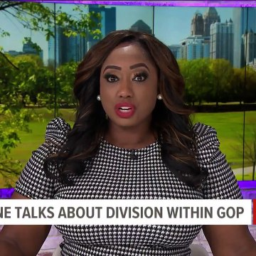Rep. Marjorie Taylor Greene talks about division in GOP