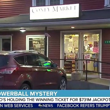 Mystery Powerball winner