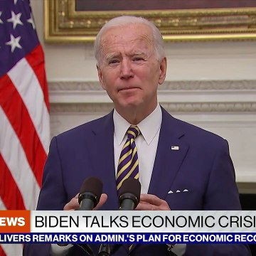 President Biden discusses economic crisis