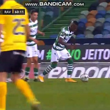 Gelson  goal  Sporting  1  -  1   Rio Ave
