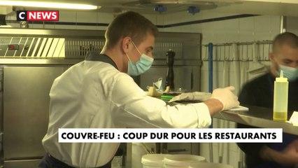 Couvre-feu : nouveau coup dur pour les restaurateurs