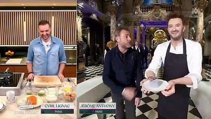 Tous en cuisine : la belle surprise de Jérôme Anthony à Cyril Lignac (vidéo)