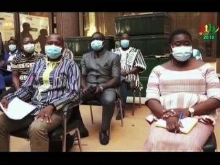 RTB / Cérémonie de lancement du Programme Pluriannuel de Résilience duBurkina Faso