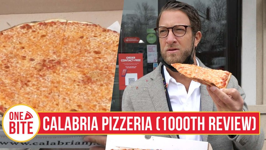 Barstool Pizza Review - Calabria Pizzeria & Restaurant, Livingston, NJ (1000th Review)