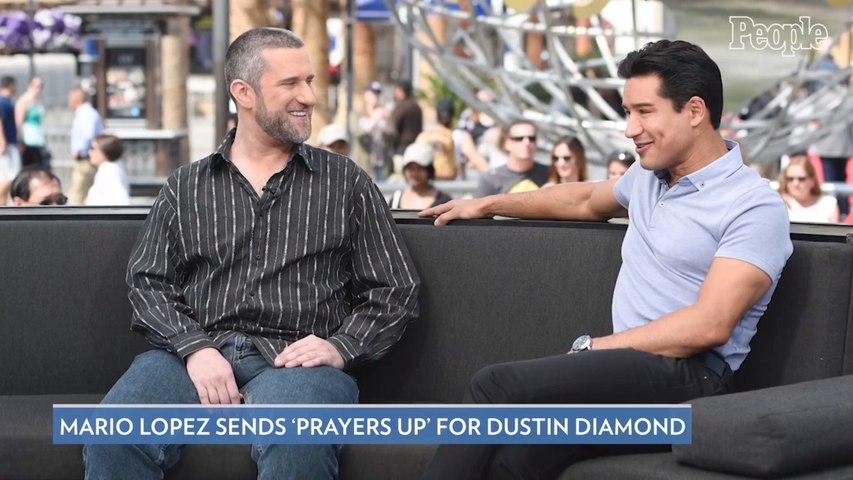 Mario Lopez Reacts to Dustin Diamond's Cancer Diagnosis: 'God Bless & Prayer's Up'