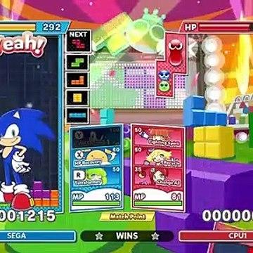 Puyo Puyo Tetris 2 - Official Sonic Trailer