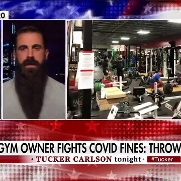 Gym owner who defied lockdowns claims state emptied entire bank account