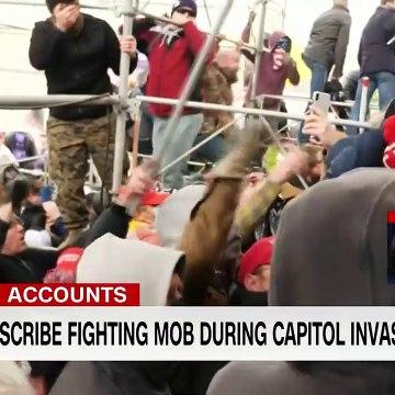 Police describe facing Capitol riot mob Kill him with his own gun