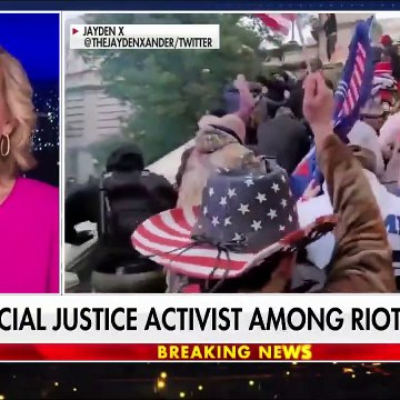 Left-wing activist charged in Capitol riot after saying he was there to 'document'