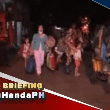 #LagingHanda | Davao City LGU, nagsagawa ng pre-emptive evacuation sa ilang lugar sa lungsod matapos tumaas ang lebel ng tubig sa Davao River dahil sa pag-ulan