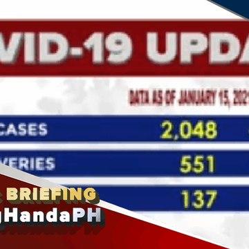 #LagingHanda | Update sa COVID-19 cases