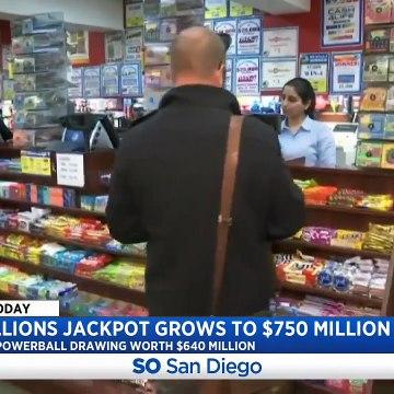 Mega Millions Jackpot Grows To $750M