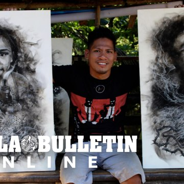 Painting with fire & smoke: Marvin Dalisay's art