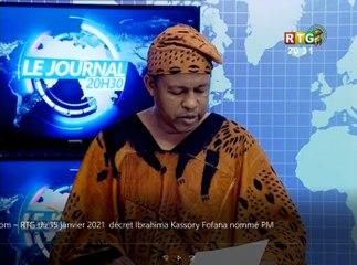Le JT du 15/01/2021 de la RTG Koloma