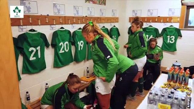 Ireland Women - Tunnel Cam