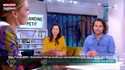 Miss France 2021 : Amandine Petit se confie sur une touchante lettre reçue après son élection (vidéo)
