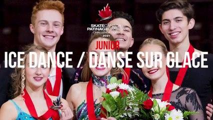 Défi Patinage Canada 2021 - Danse Junior Rythmique
