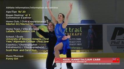 2021 Skate Canada ChallengeL Junior Rhythm Dance