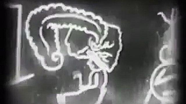 Fantasmagorie (1908) Emile Cohl - Silent Animation