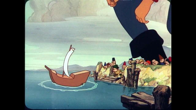 Gulliver's Travels (1939) Adventure, Comedy Full Length Animated Movie part 2/2