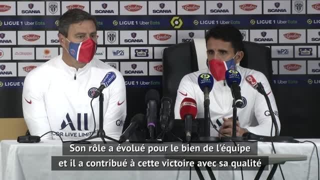"""20e j. - Perez : """"Mbappé a été très important pour obtenir la victoire"""""""