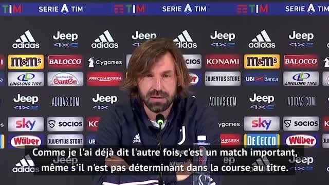 "18e j. - Pirlo : ""Nous allons à San Siro pour gagner"""