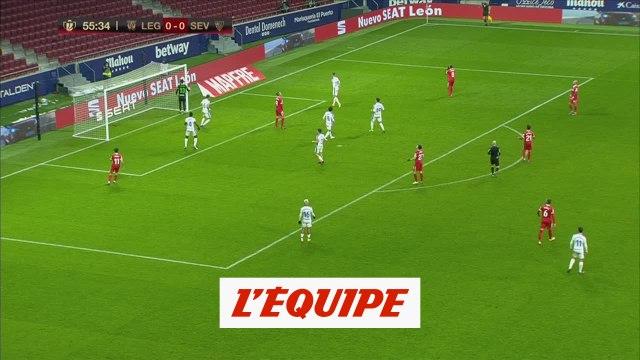 Le résumé de Leganes - FC Séville - Foot - ESP - Coupe