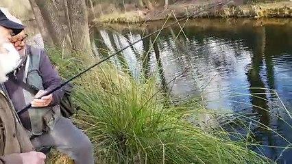 Grabels : une truite de 2,3 kg pêchée dans la Mosson