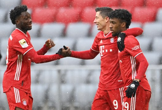Bundesliga - Lewandowski et Müller portent toujours le Bayern !