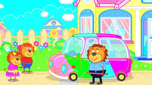 Lion Family  Healthy Habits & Good Habits. Want to Be a Good Kid  Cartoon for Kids
