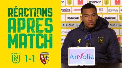 FC Nantes - RC Lens : les réactions des joueurs