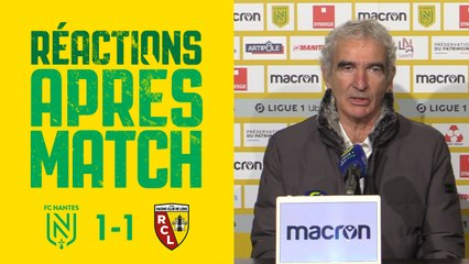 Raymond Domenech après FC Nantes - RC Lens
