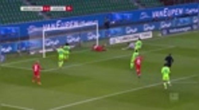 16e j. - Leipzig freiné par Wolfsburg