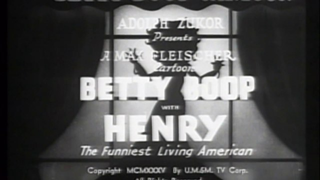 Betty Boop with Henry the Funniest Living American (1935)
