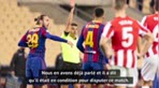 Finale - Koeman revient sur la titularisation de Messi, Marcelino aux anges après la victoire