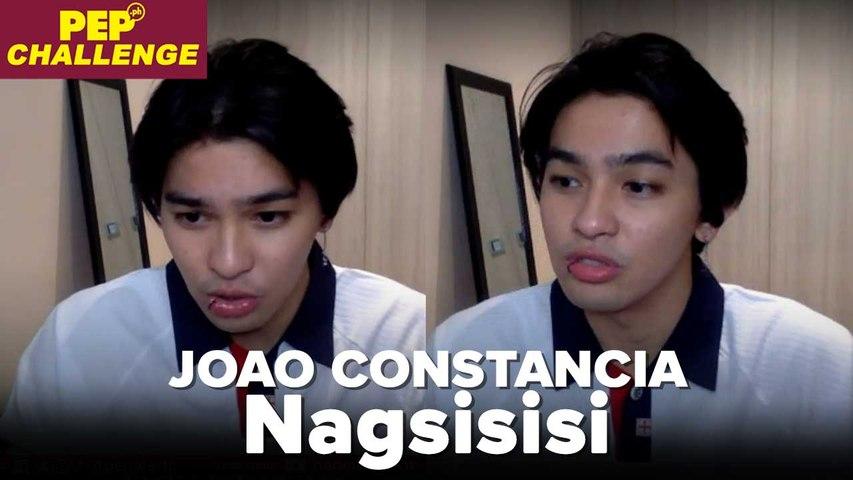 Joao Constancia, nagsisisi sa ginawa sa isang girl